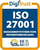 DigiTrust logo ISO-27001