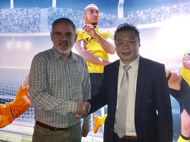 Marco Teelen (Systemec) en Wai King Cheung (VVV-Venlo)