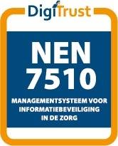 DigiTrust gecertificeerd voor NEN 7510-1:2017, registratienummer DGTN2019092601